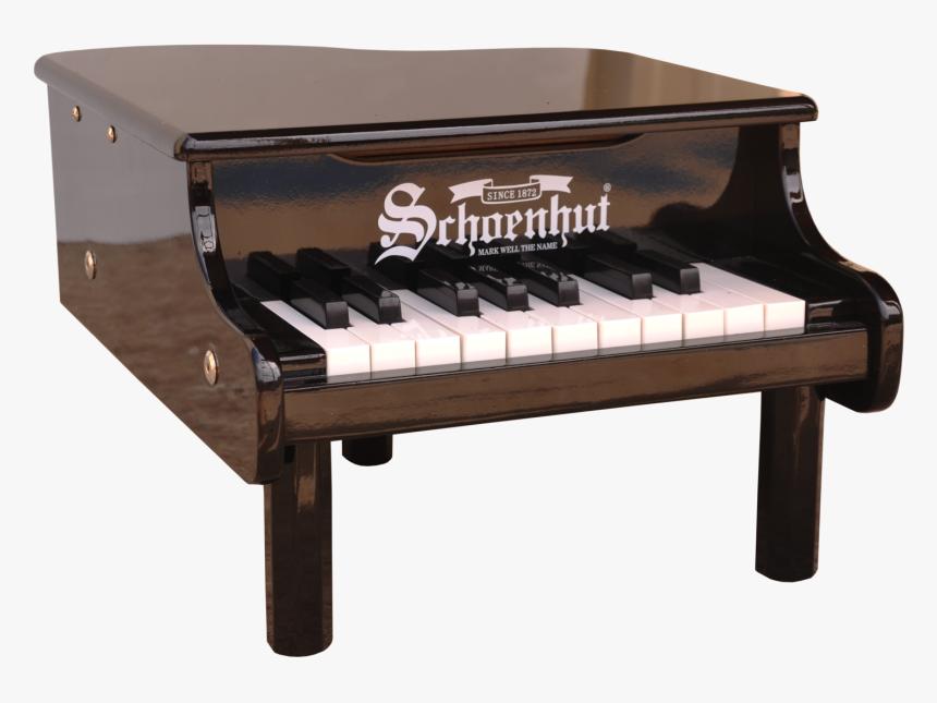 Schoenhut Mini Grand Piano 18-key Black - Mini Piano, HD Png Download, Free Download