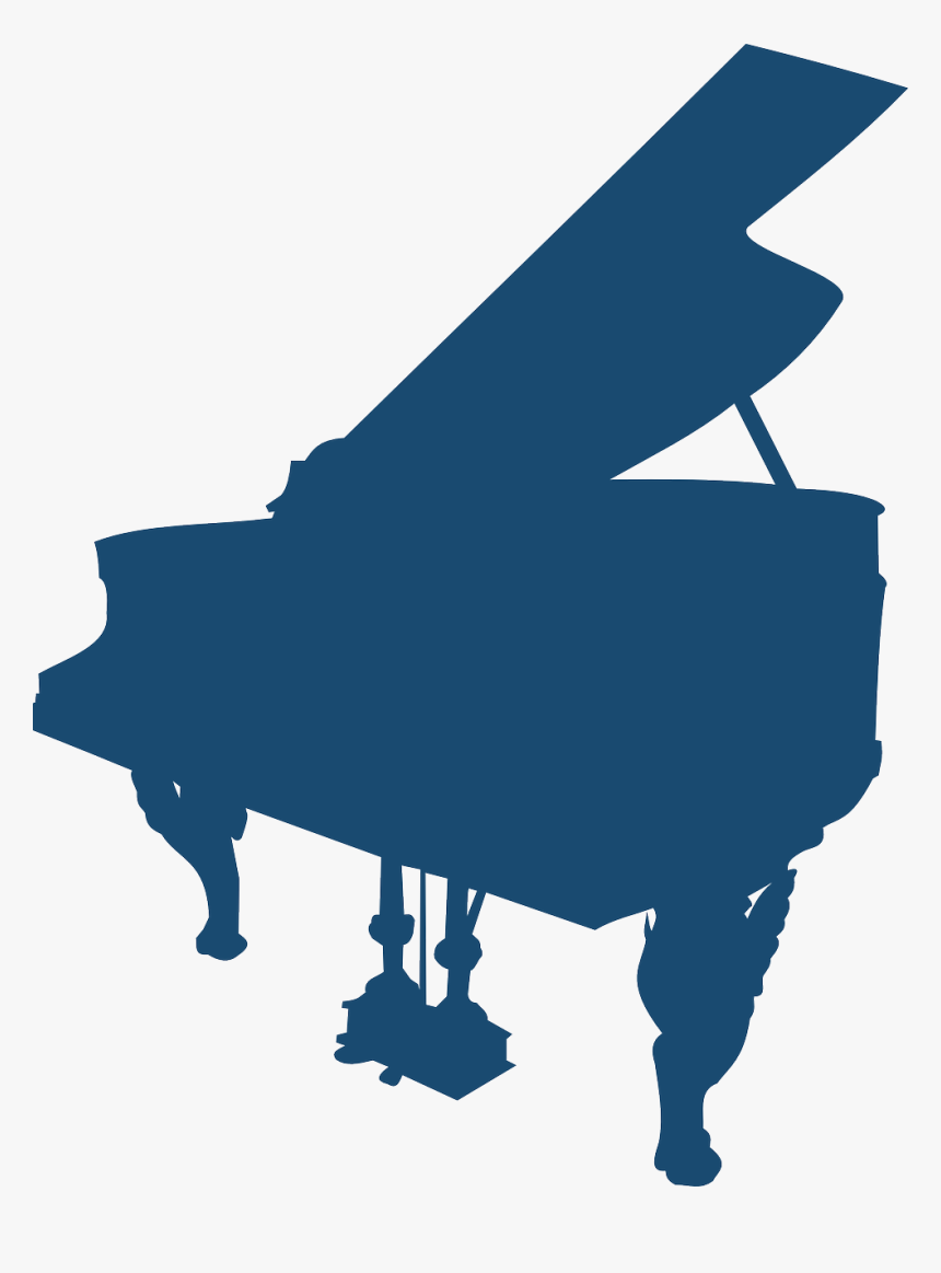 Grand Piano Silhouette Png, Transparent Png, Free Download