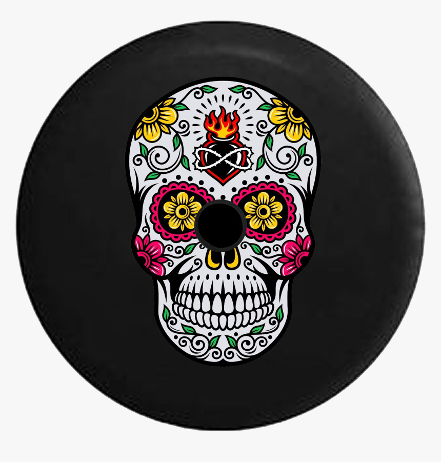Colorful Day Of The Dead Skull Designs, HD Png Download, Free Download