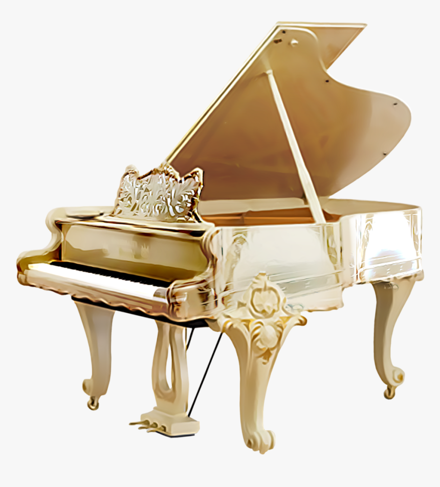 Grand Piano Png Image - Classic White Grand Piano, Transparent Png, Free Download