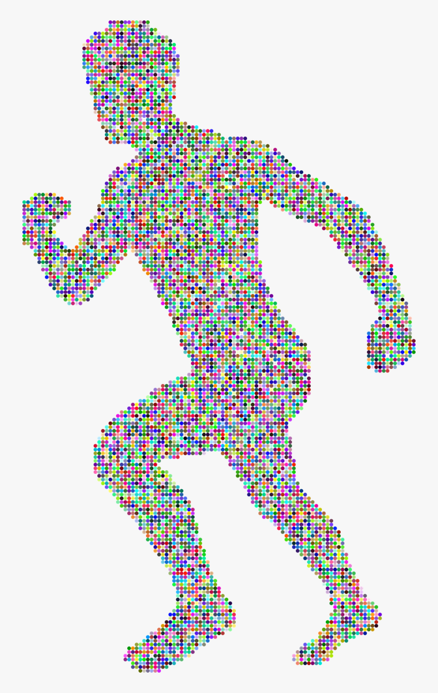 Man Running Clip Art, HD Png Download, Free Download
