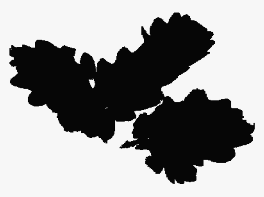 This Free Icons Png Design Of Ireland Leaf Silhouette - Silhouette, Transparent Png, Free Download