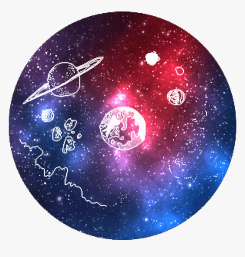 Purple Background Tumblr Planet Galaxy Pretty Png Purple Sticker Tumblr Galaxy Transparent Png Kindpng