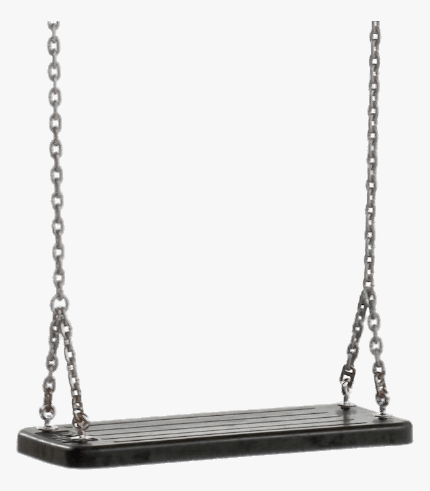 Rubber Swing Seat - Chain Swing, HD Png Download, Free Download