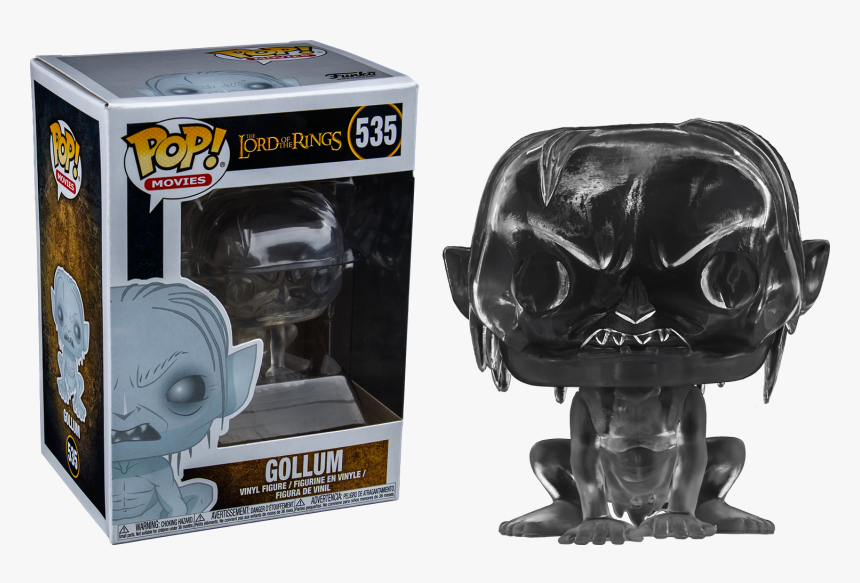 Funko Pop Gollum Invisible, HD Png Download, Free Download