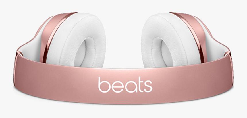 Rose Gold Headphone Png Transparent Image Beats Solo 3 Wireless Rose Gold Headphones Png Download Kindpng