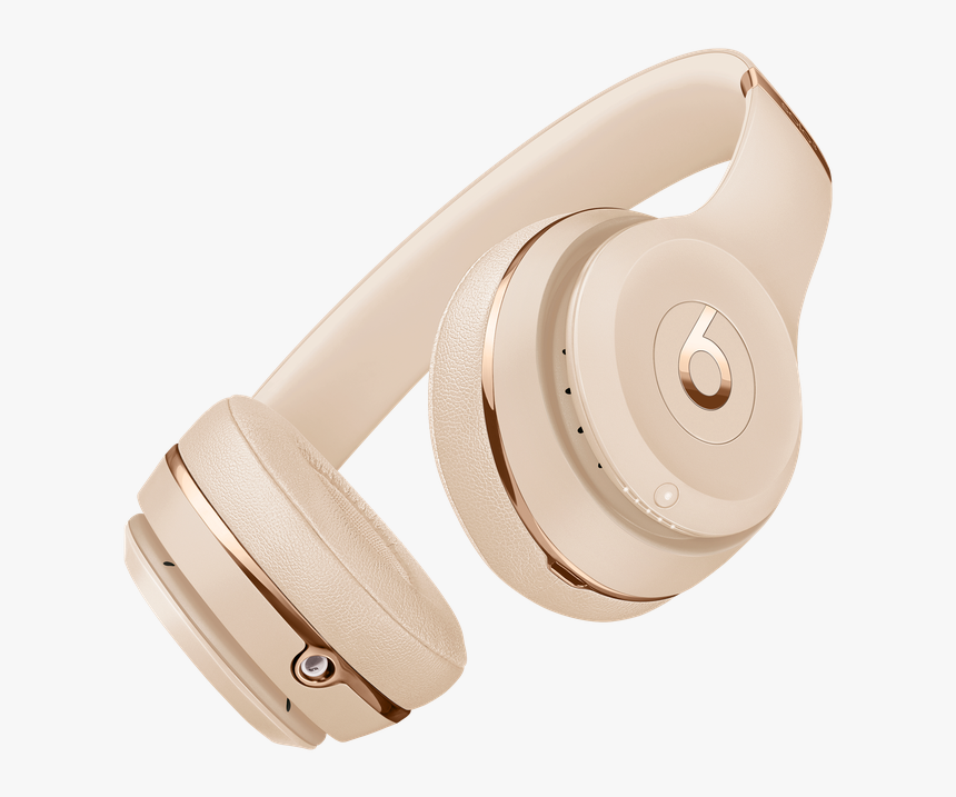Beats Solo 3 Wireless Gold, HD Png Download, Free Download