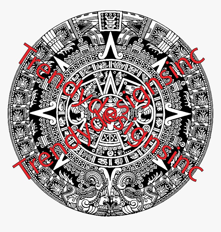 Aztec Calendar Tattoo Designs, HD Png Download, Free Download