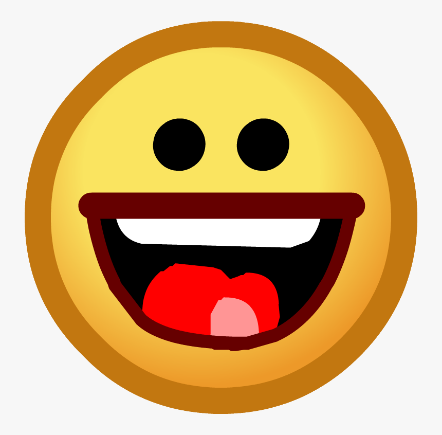 Vintage Penguin Wiki - Club Penguin Laughing Face, HD Png Download, Free Download