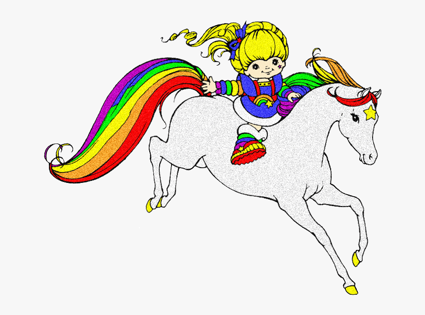horse clipart glitter rainbow brite and starlite hd png download kindpng horse clipart glitter rainbow brite