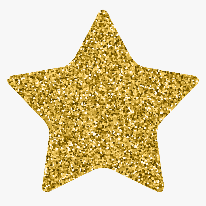 Star Decor Gold Clip, HD Png Download, Free Download