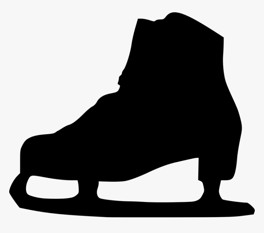Ice Skating Shoes Png Transparent Hd Photo - Ice Skates Silhouette Png, Png Download, Free Download