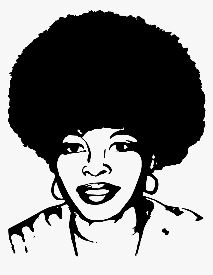 This Free Icons Png Design Of Assata Olugbala Shakur - African Woman Head Png, Transparent Png, Free Download