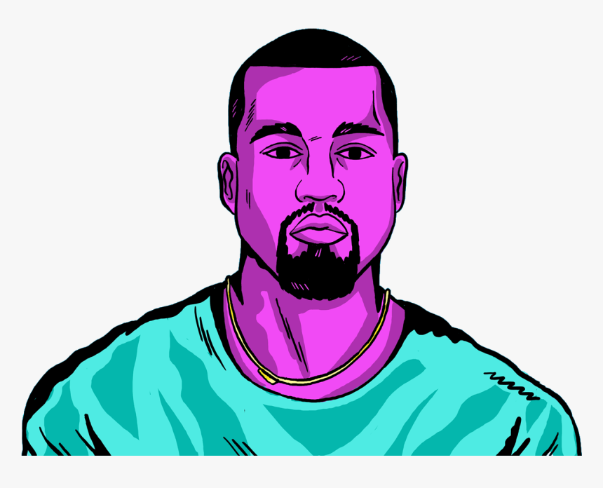 Icone Kanye West Dessin, HD Png Download, Free Download