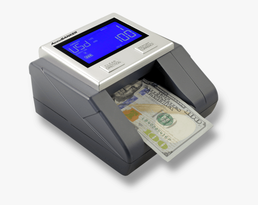 Accubanker Counterfeit Detector, HD Png Download, Free Download