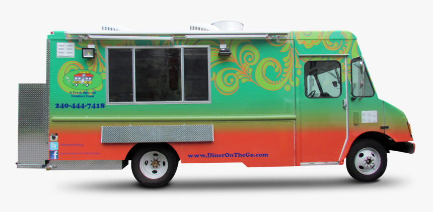 Ice Cream Street Food Car Food Truck - Diner On The Go, HD Png Download, Free Download