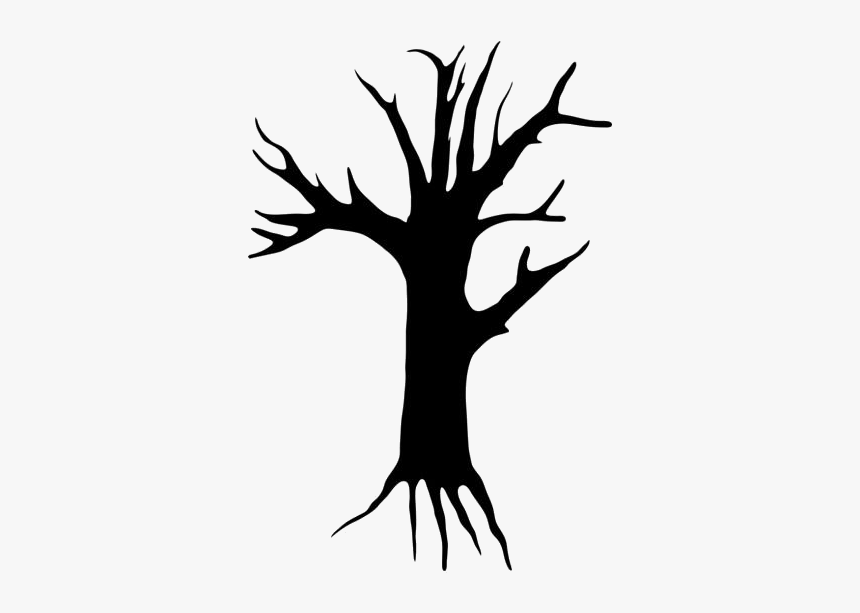 Creepy Trees Png Transparent Images - Scary Tree Clip Art, Png Download, Free Download