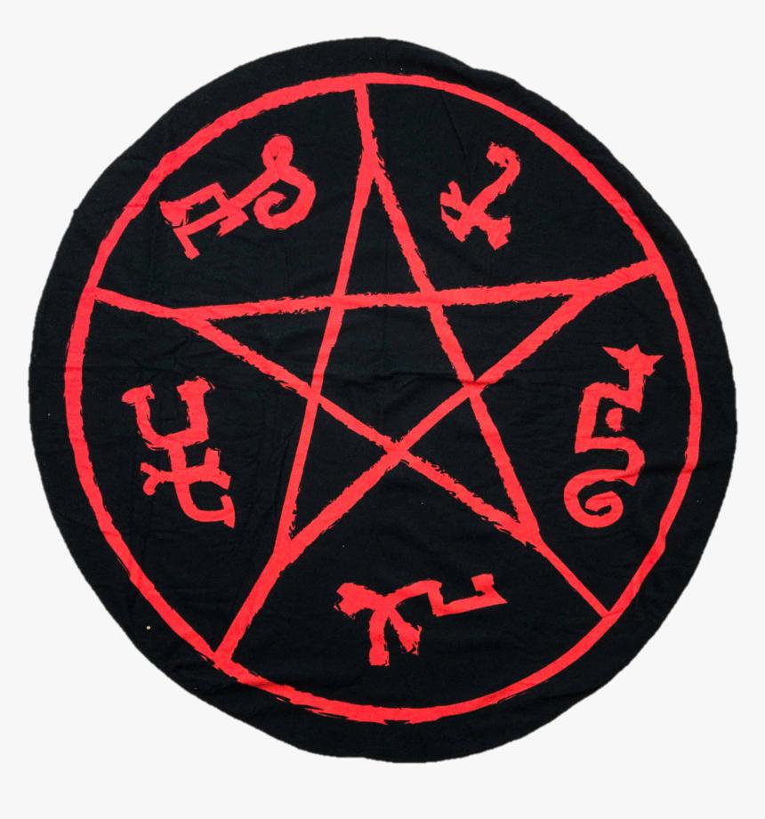 Transparent Supernatural Symbol Png - Satan Symbol Pixel Art, Png Download, Free Download