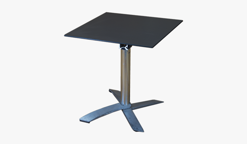 Grey Top Folding Table - End Table, HD Png Download, Free Download