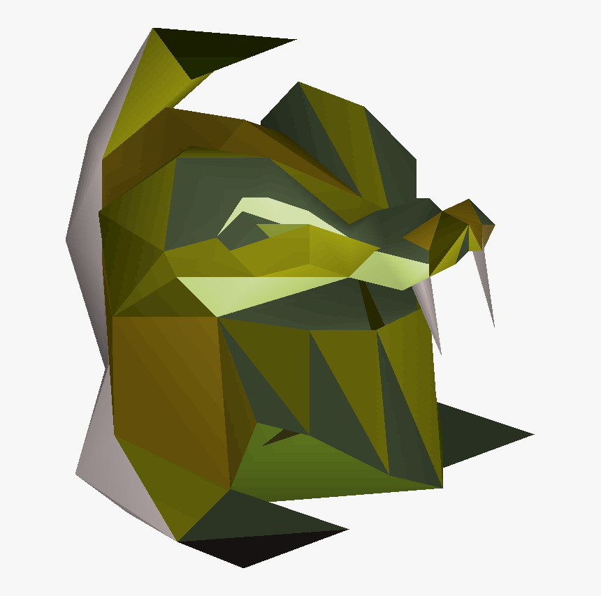 Serpentine Helm Osrs, HD Png Download, Free Download