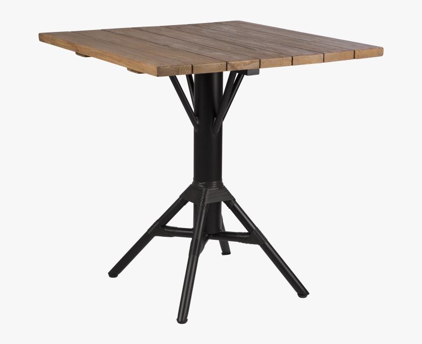 Black, 70x70cm Teak,sika Design,coffee & Side Tables,end - Sika Design, HD Png Download, Free Download