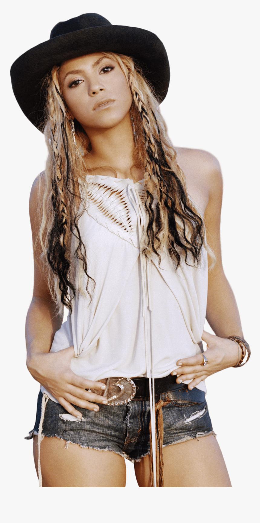 Shakira Hat - Shakira Png, Transparent Png, Free Download