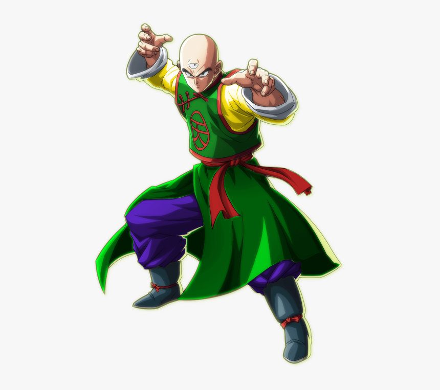 Based On Whis, This Cell Skin Is Based On Cell Jr - Dragon Ball Fighterz Tenshinhan, HD Png Download, Free Download