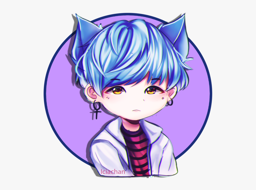 233 2334670 anime clipart bts chibi suga bts drawings hd