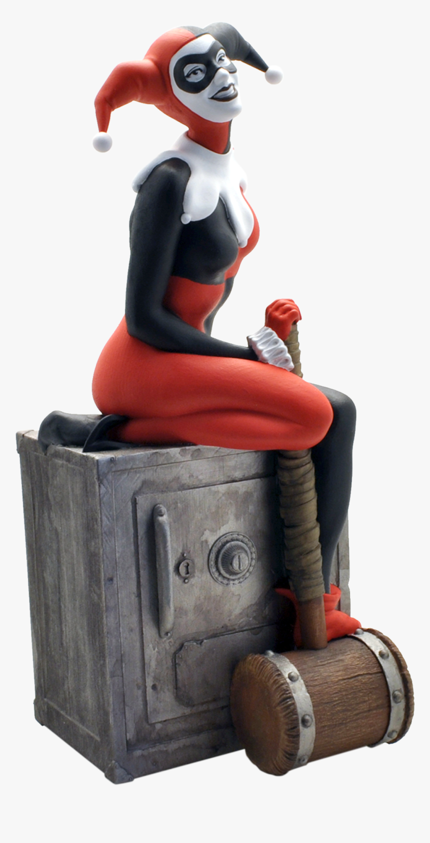 Dc Comics Bust Bank Harley Quinn, HD Png Download, Free Download