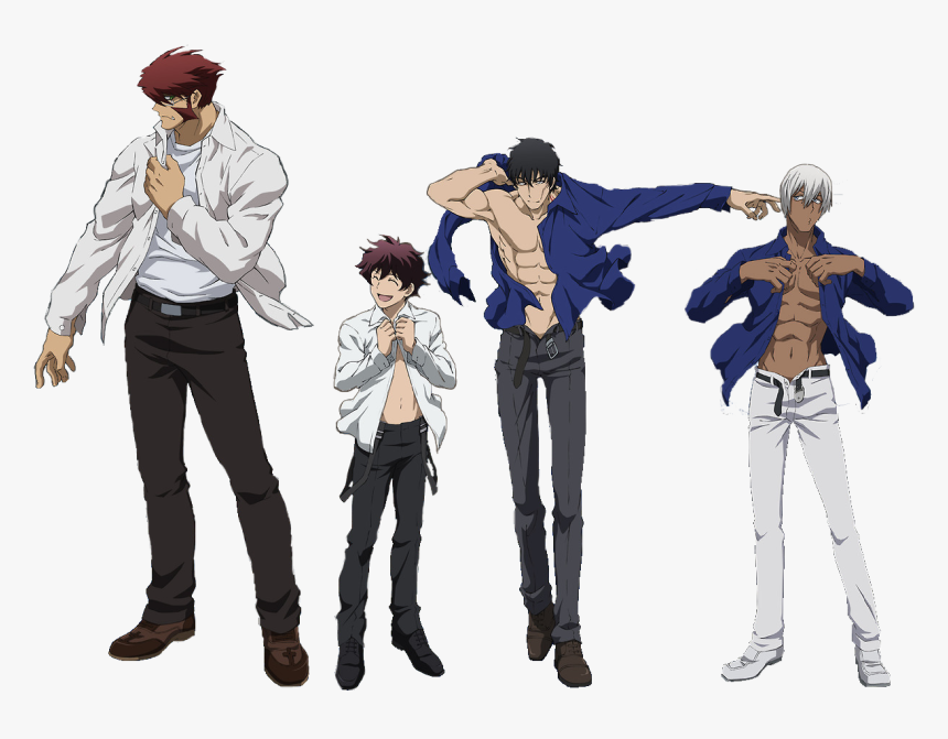 Blood Blockade Battlefront Chain And Steven, HD Png Download, Free Download