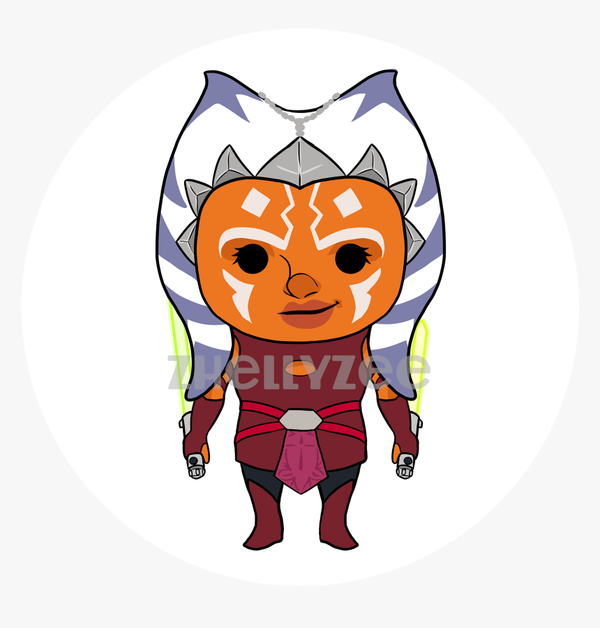Ahsoka Tano Pillow Plush - Cartoon, HD Png Download, Free Download