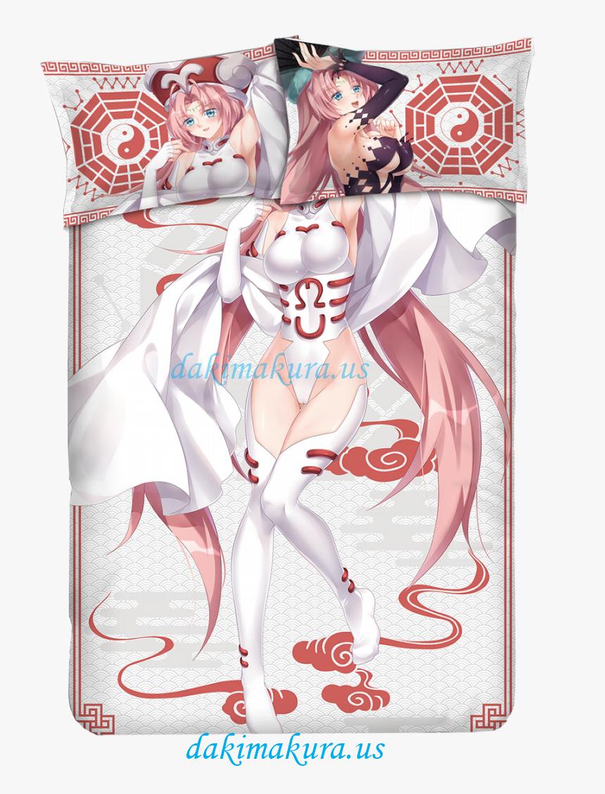 Daji Japanese Anime Bed Blanket Duvet Cover With Pillow - Dakki Houshin Engi Body Pillow, HD Png Download, Free Download