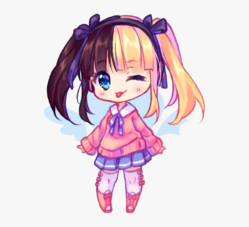 Chibi Kawaii Anime Girl, HD Png Download, Free Download