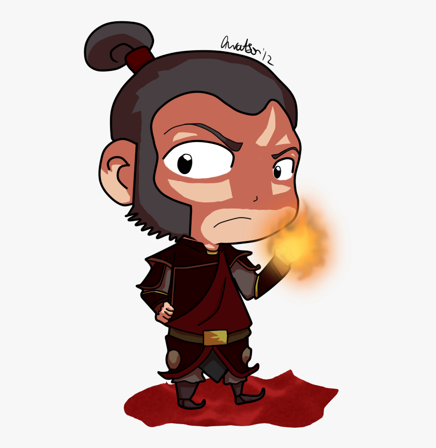 Cartoon - Chibi Avatar The Last Airbender Zhao, HD Png Download, Free Download
