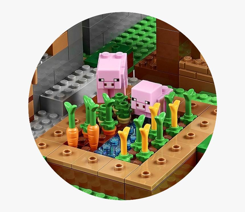 Transparent Minecraft Pig Png - Lego Minecraft Pig Set, Png Download, Free Download