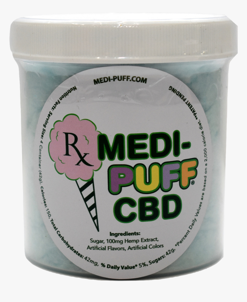 Blue Raspberry Cbd Cotton Candy, HD Png Download, Free Download