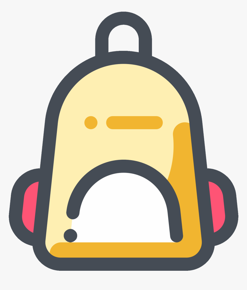 Childrens Backpack Icon - Backpack Icon, HD Png Download, Free Download