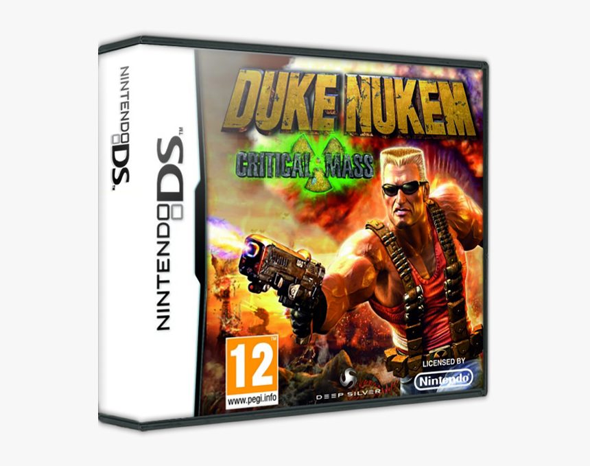 Nintendo Ds Duke Nukem, HD Png Download, Free Download