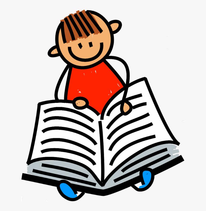 Reading Books Clip Art