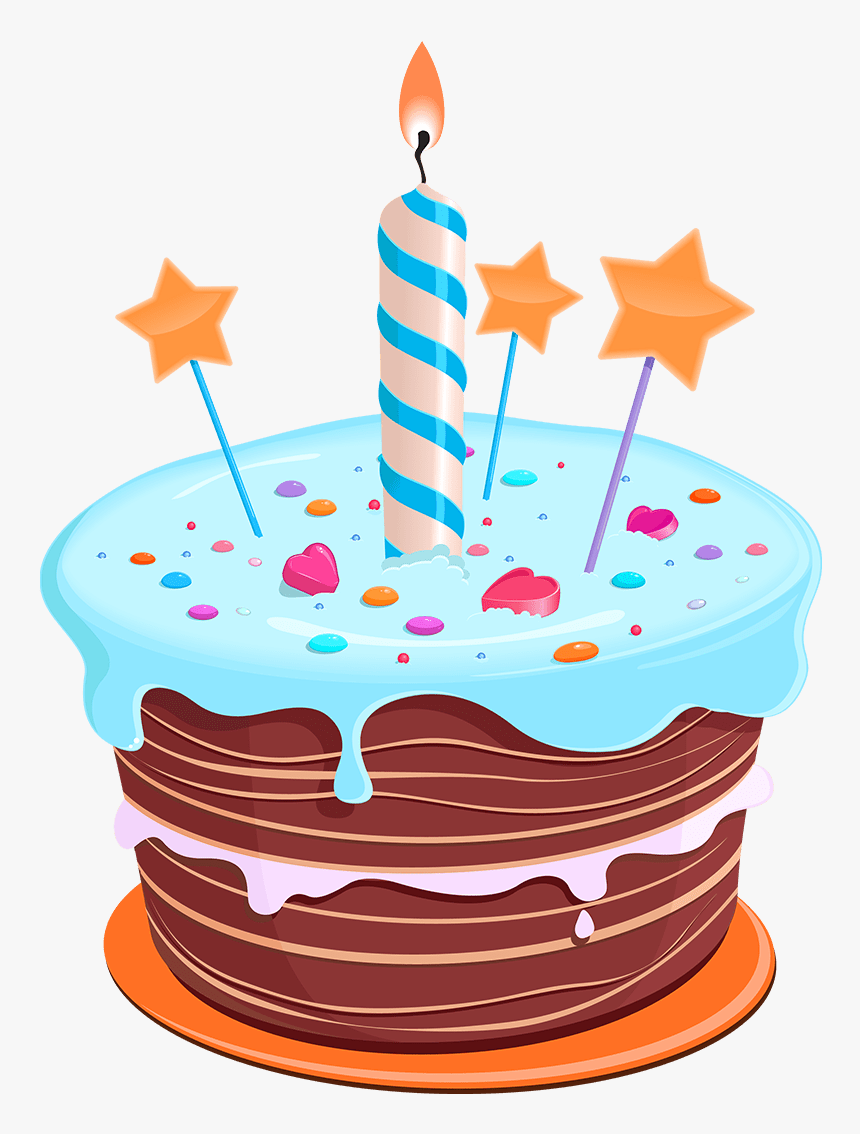 First Birthday Cake Png Clipart , Png Download - Happy Birthday Cake Clip Art, Transparent Png, Free Download