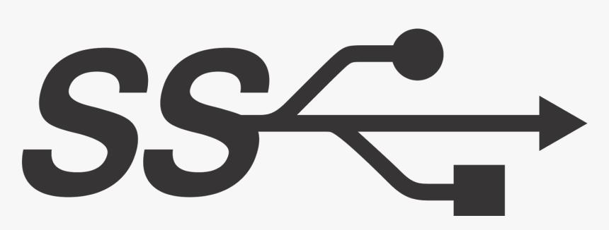 Usb 3.0 Symbol Png, Transparent Png, Free Download