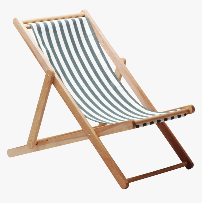 Deckchair Wing Chair Beach Chair Transparent Background Png Png Download Kindpng
