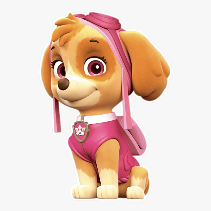 Transparent Paw Patrol Characters Png - Skye Paw Patrol Png, Png Download, Free Download