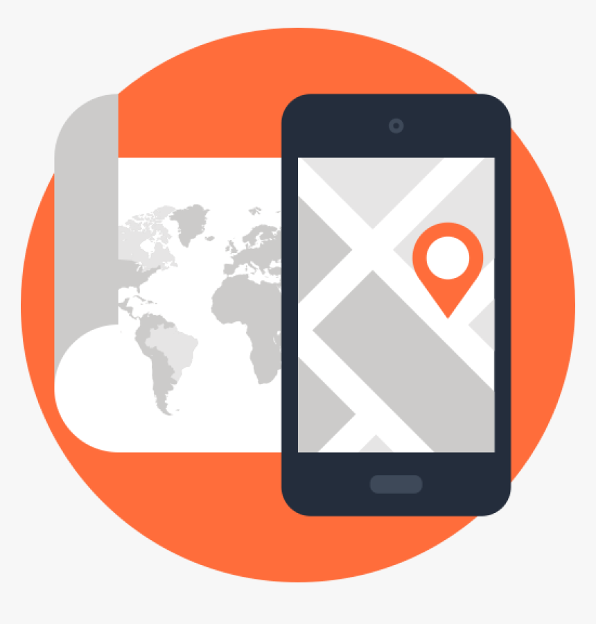 Android Gps Icon Png Download - Call Of Duty World Map, Transparent Png, Free Download