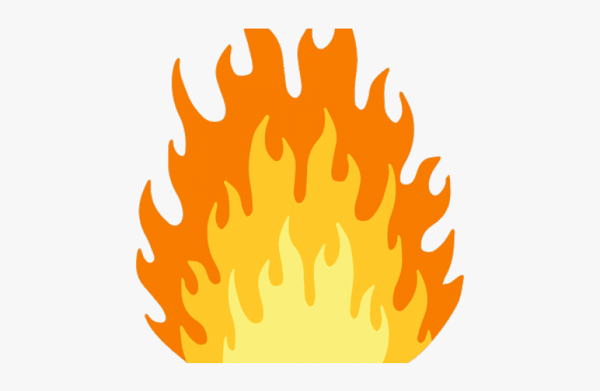 Cartoon Fire Png - Flame Fire Cartoon Png, Transparent Png, Free Download