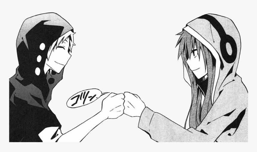 Transparent Fist Bump Png - Anime Girls Fist Bump, Png Download, Free Download