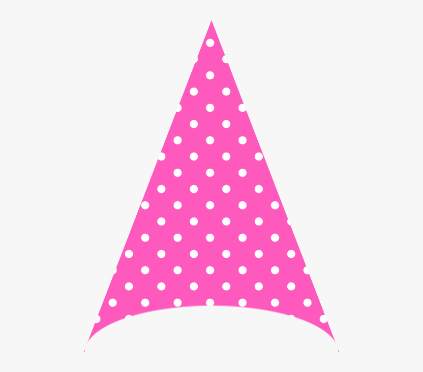 New Years Party Hat Transparent Background Download - Polka Dot, HD Png Download, Free Download
