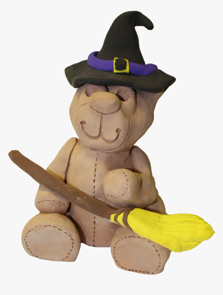1610 Older Halloween Clay Bear, HD Png Download, Free Download