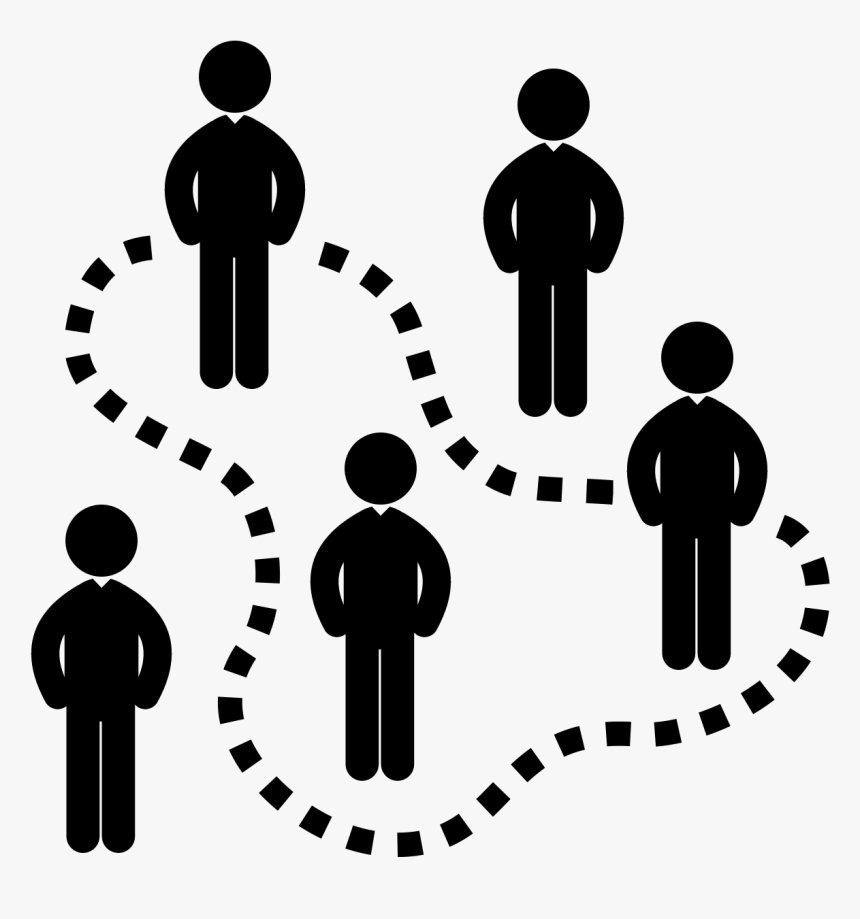 Transparent Group Of People Icon Png - Gerrymandering Symbol, Png Download, Free Download