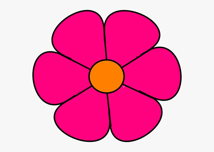 Transparent Cartoon Rose Png Pink Flower Clip Art Png Download